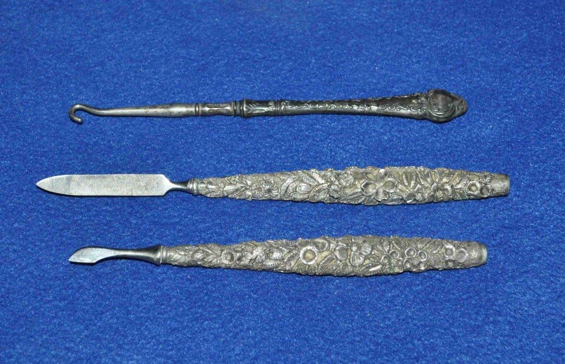 3 Sterling Nial Tools