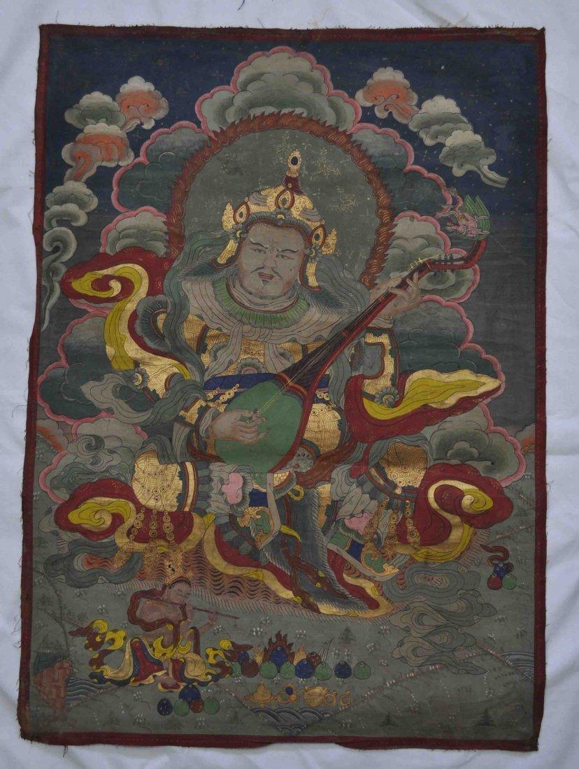Tibetan Buddha Painting Thangka