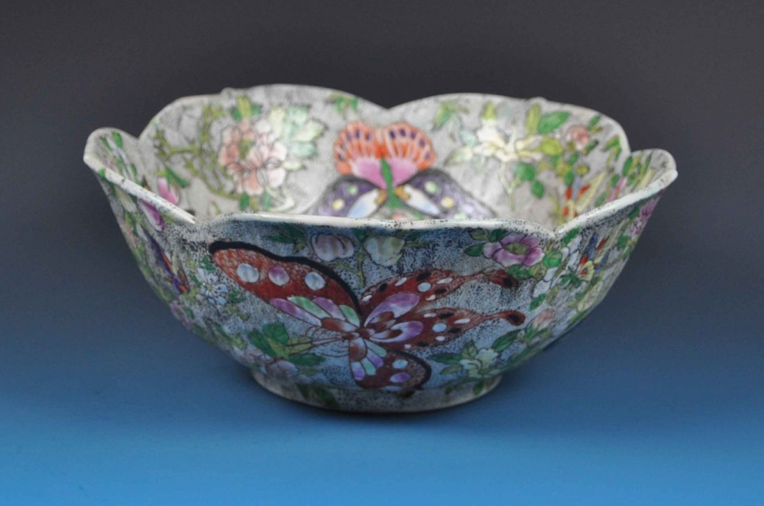 Chinese Porcelain Bowl w. Mark