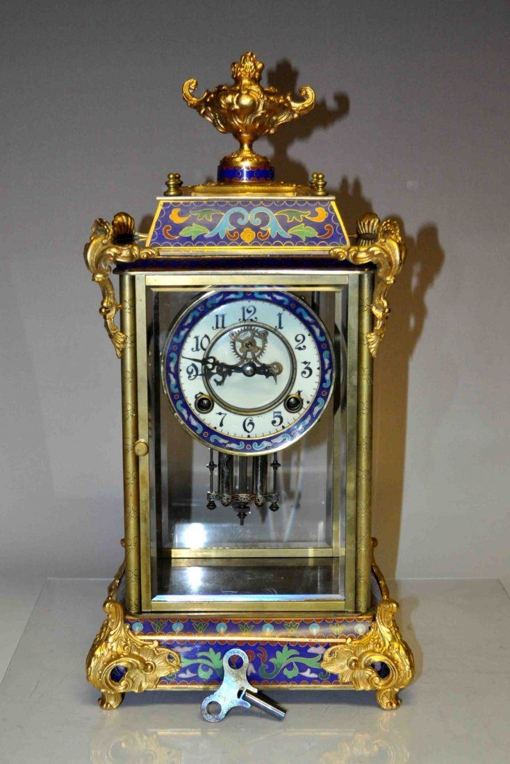 Chinese Cloisonne Clock