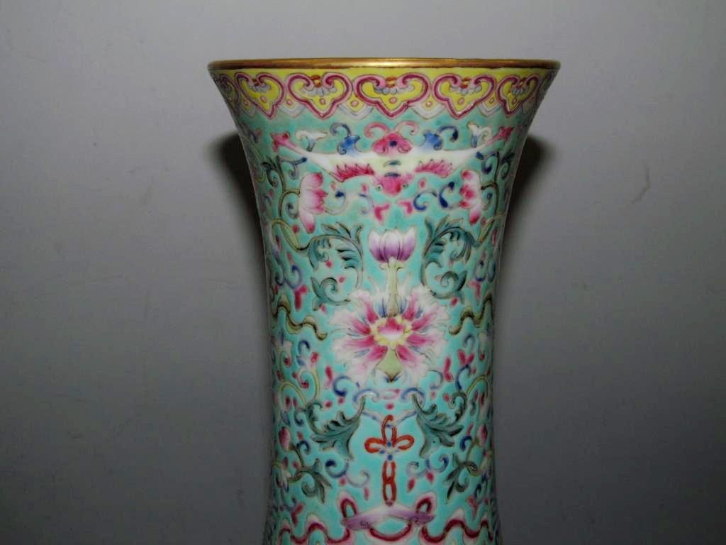 Chinese Porcelain Vase Marked - 2