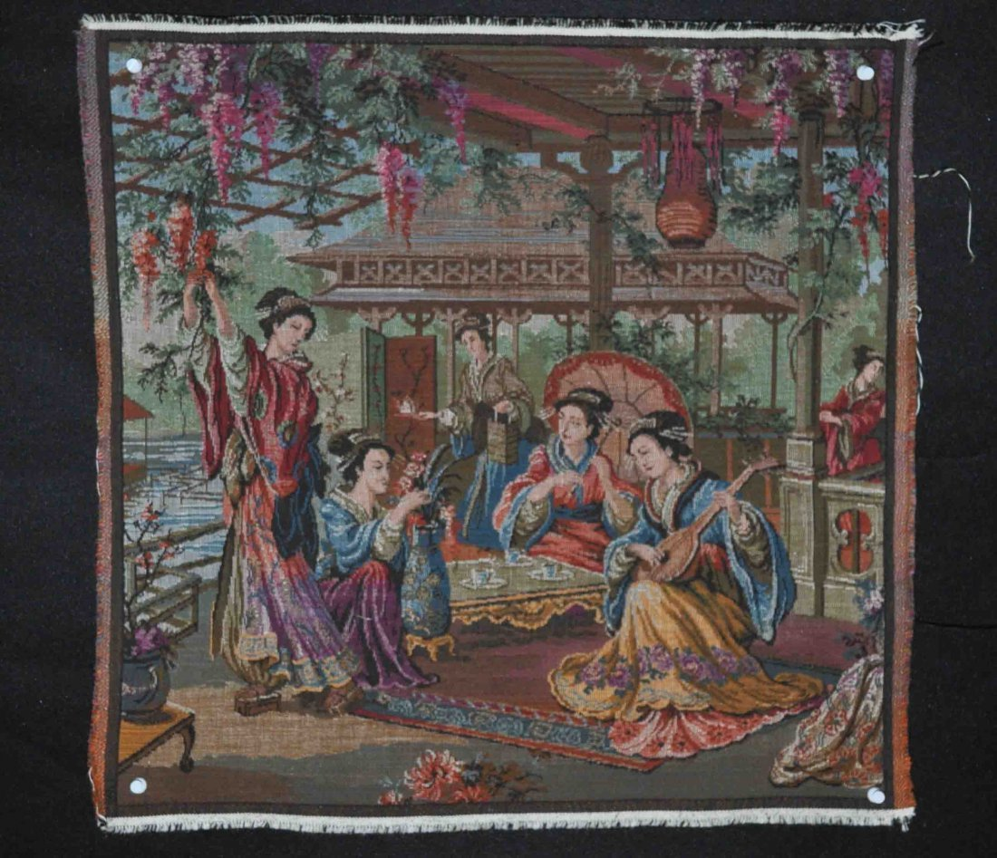 Western Embroidery Tapestry
