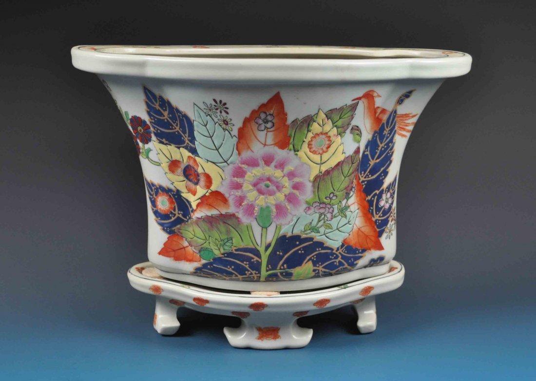 Large Japanese Porcelain Vase
