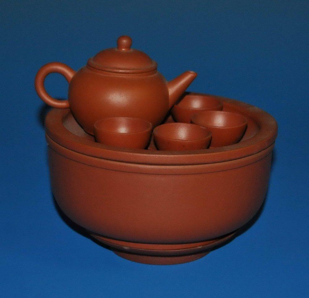 9 PCs Chinese Zisha Tea Set