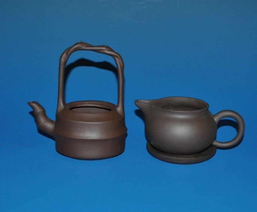 3 PCs Chinese Zisha Tea Set