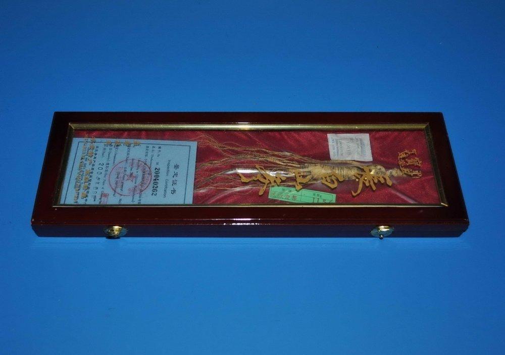 Chinese Ginseng w. Box
