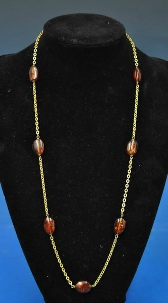 Chinee Amber Necklace