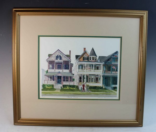 American Print Of Painting w.Frame