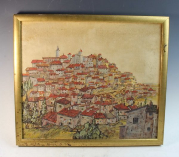 American Oil Painting On Canvas w.Frame