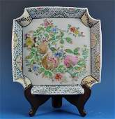 Chinese Antique Porcelain Plate