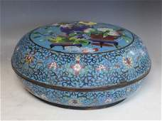Chinese Large Marked Cloisonne Box
