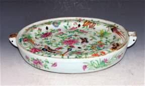 Chinese Antique Porcelain Warm Plate