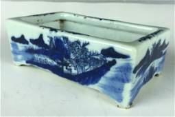 Chinese Porcelain Brush Washer 18th Century