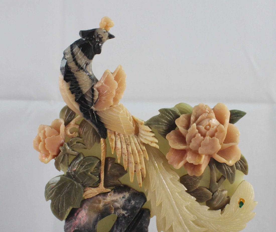 Chinese Carved Stone Statue Of Bird - 3
