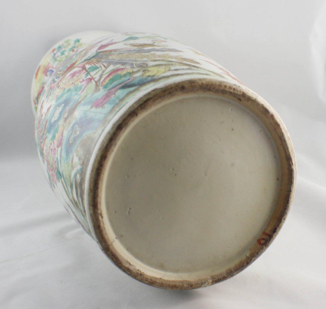 Large Chinese Porcelain Vase - 8