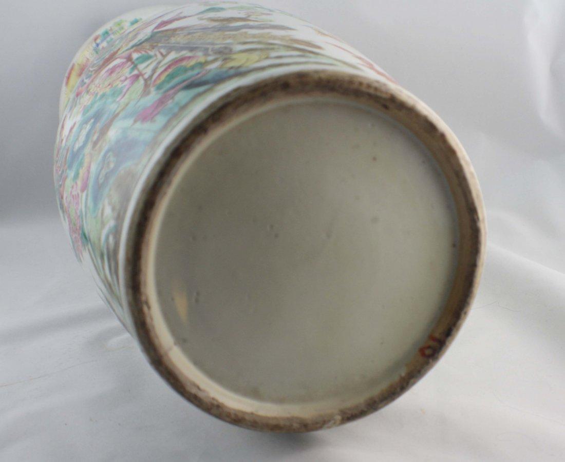 Large Chinese Porcelain Vase - 9