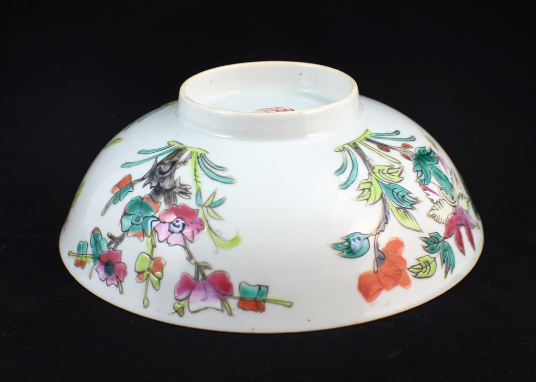 Lot Of 3 Chinese Porcelain Bowls - 4