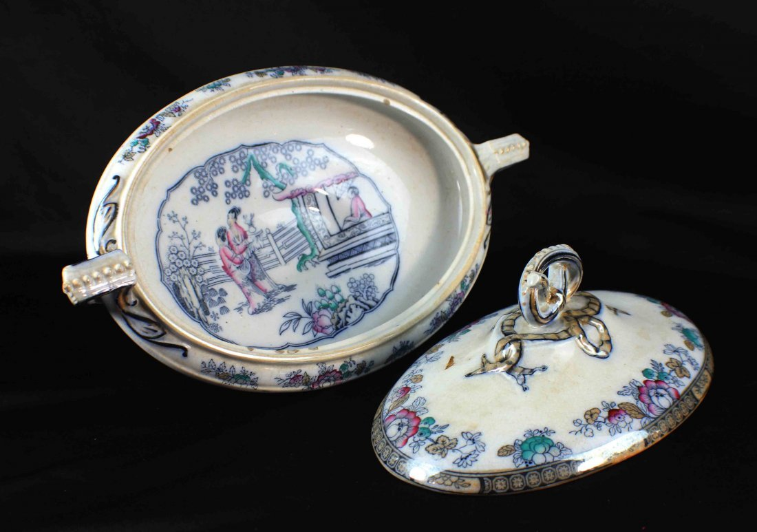 Group Chinese Porcelain Bowls & Plates - 6