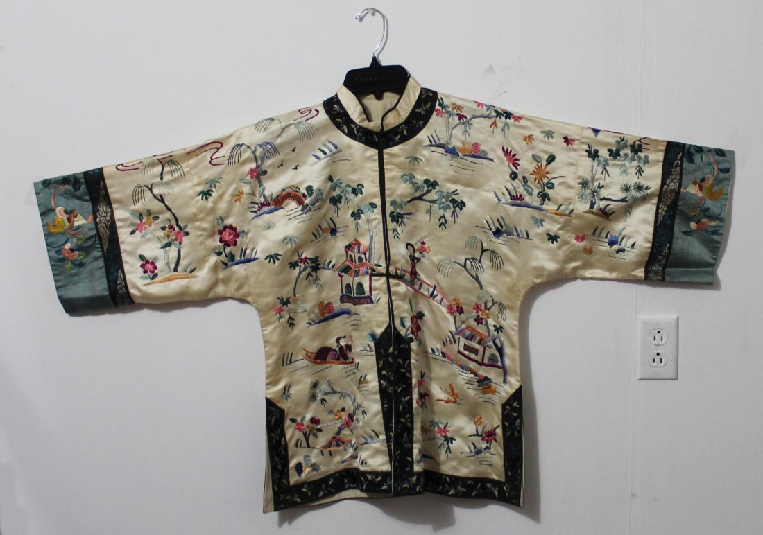 Chinese Silk Robe Embroidery