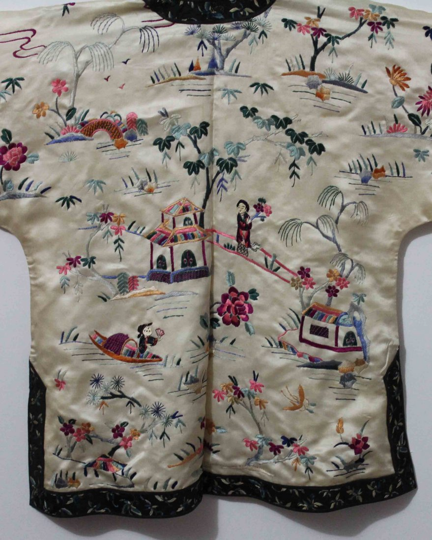 Chinese Silk Robe Embroidery - 8