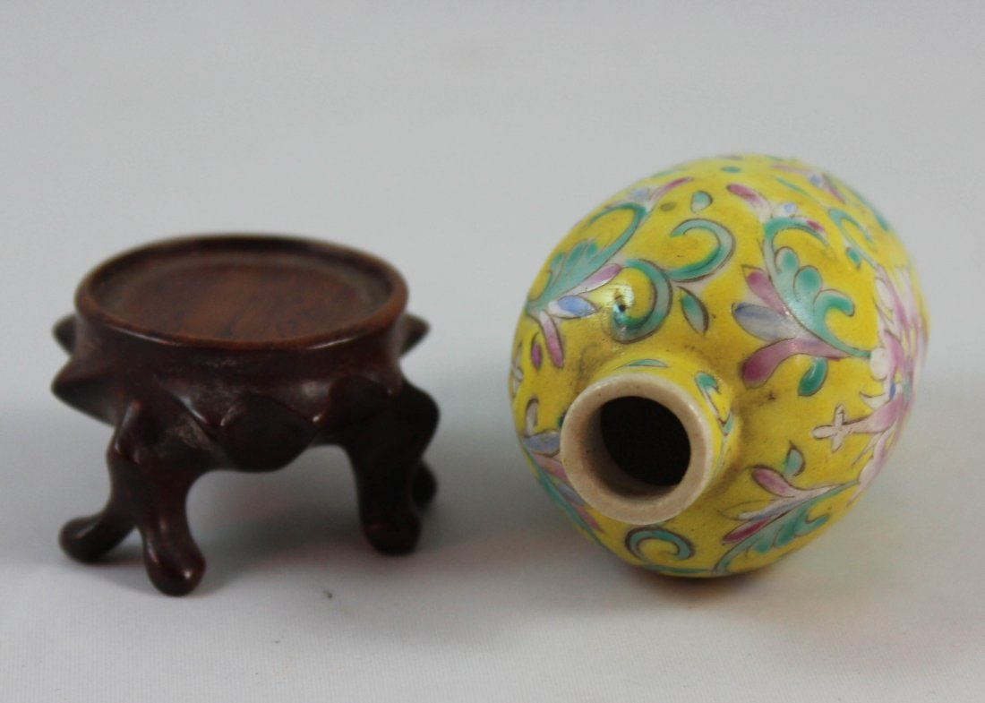 Chinese Porcelain Snuff Bottle Marked - 5