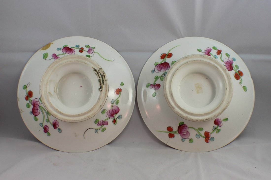 Pair Of Chinese Porcelain Plates - 7