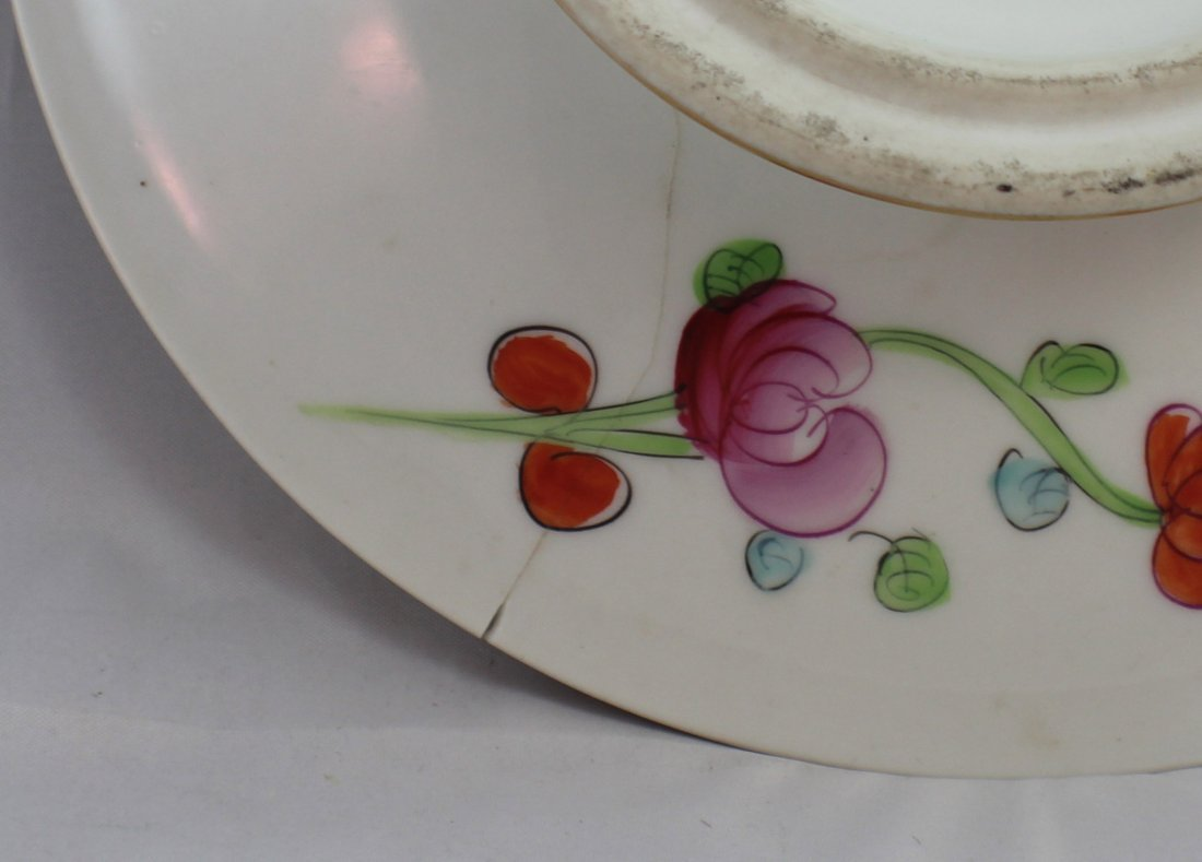 Pair Of Chinese Porcelain Plates - 8