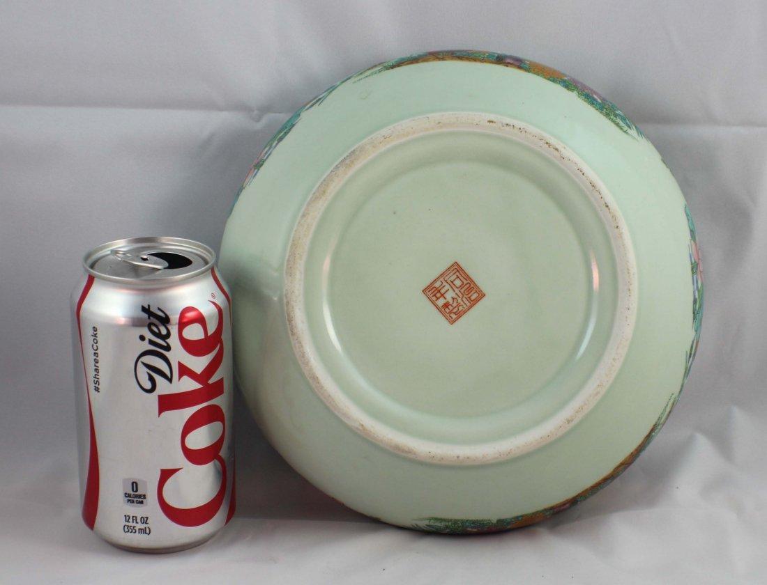 Chinese Porcelain Brush Washer Marked - 6