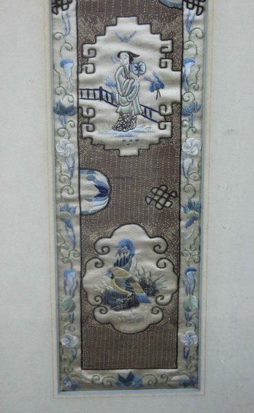 Pair of Chinese Embroidery - 7