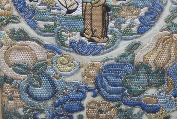 Pair of Chinese Embroidery - 9