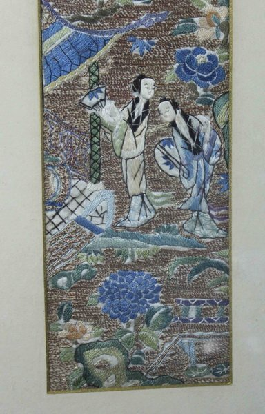 Pair of Chinese Embroidery - 5
