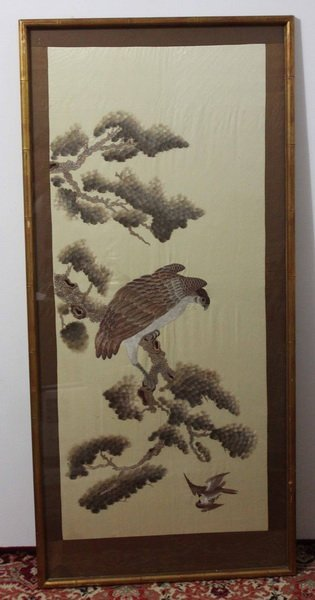 Antique Large Chinese Embroidery