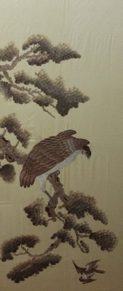 Antique Large Chinese Embroidery - 2