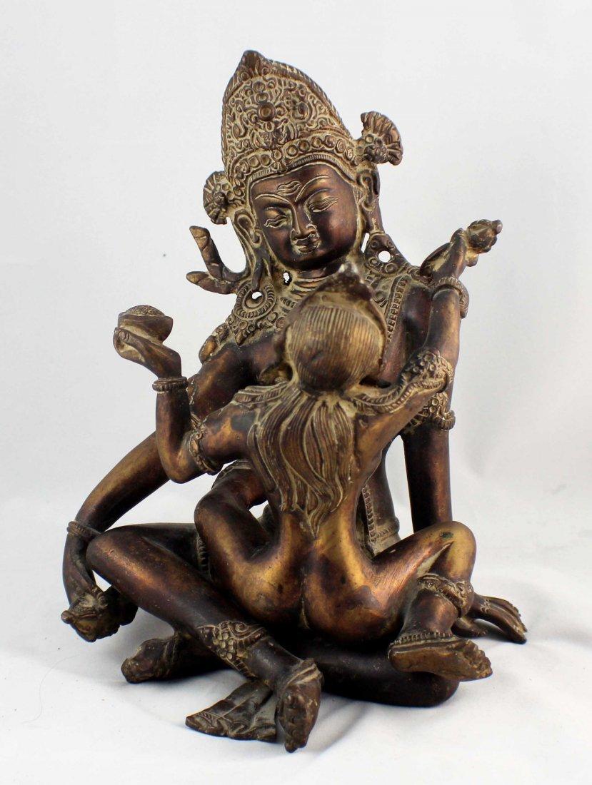 Southeast Asia Bronze Statue