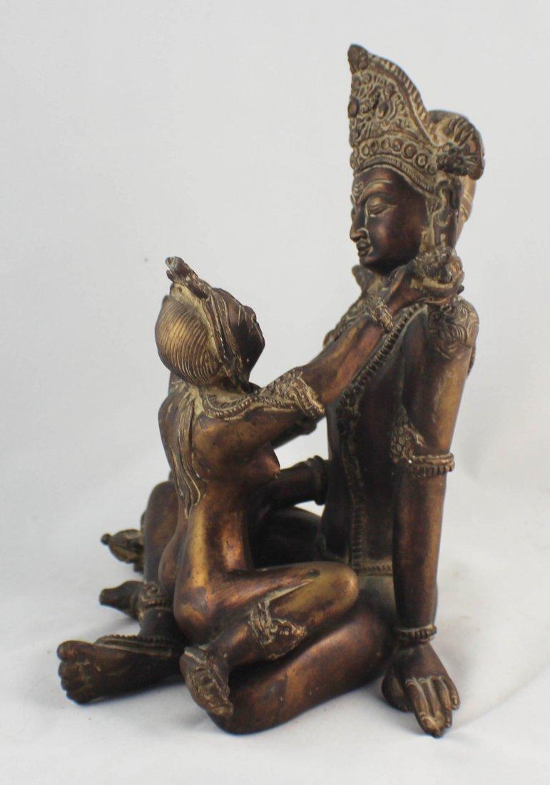 Southeast Asia Bronze Statue - 3
