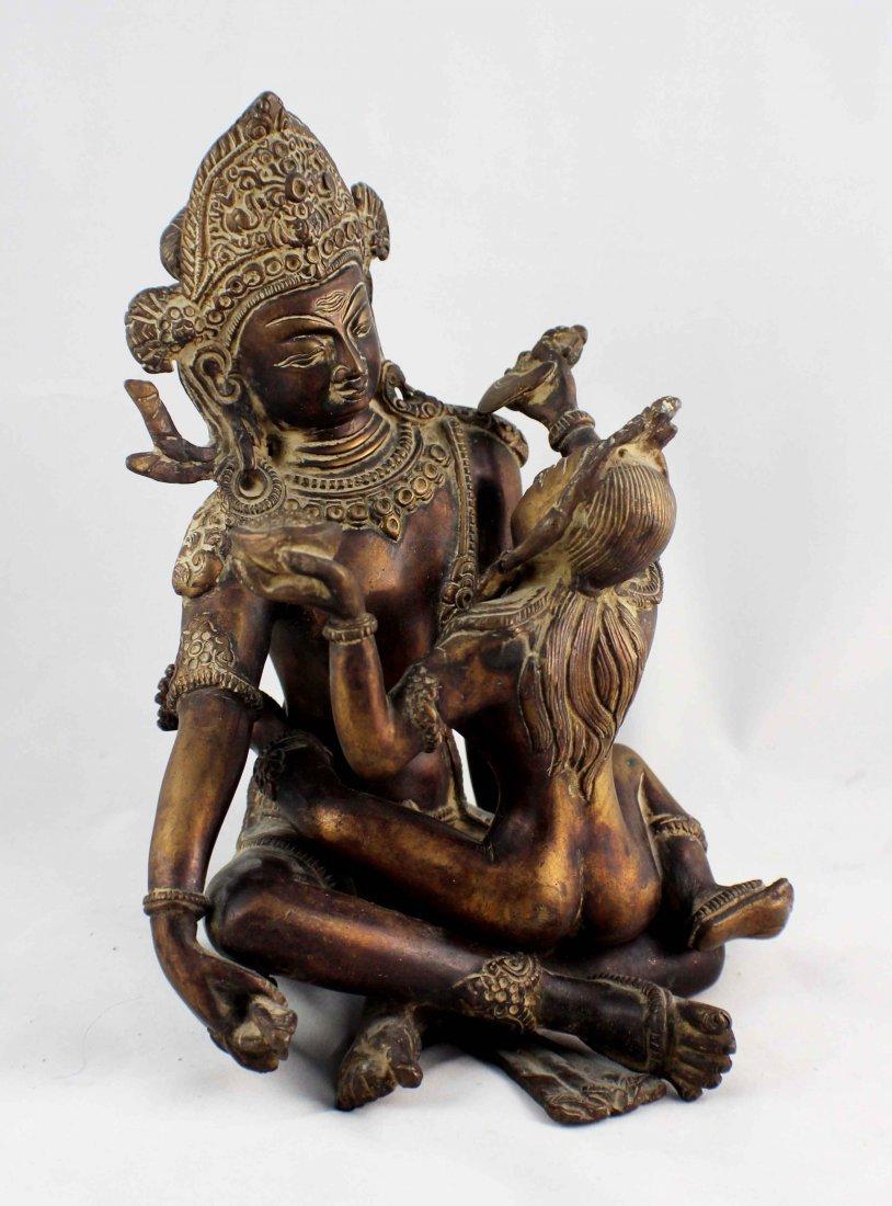 Southeast Asia Bronze Statue - 4