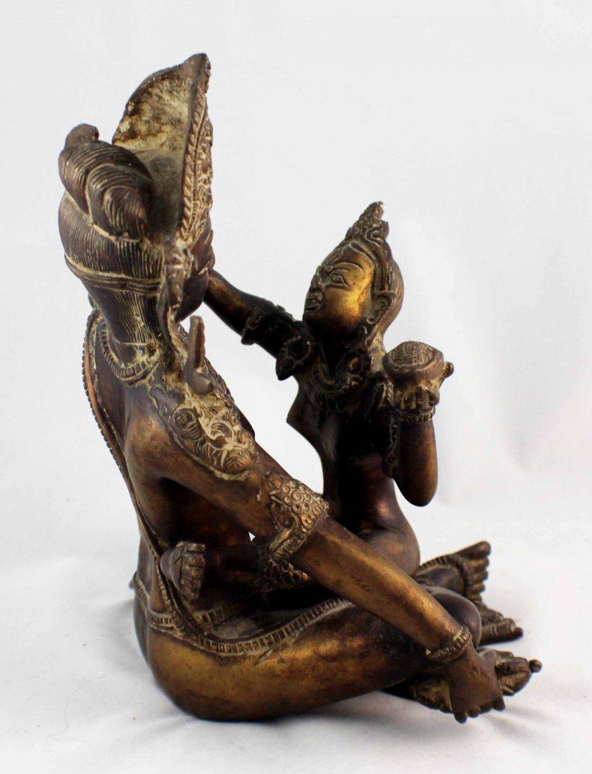 Southeast Asia Bronze Statue - 5