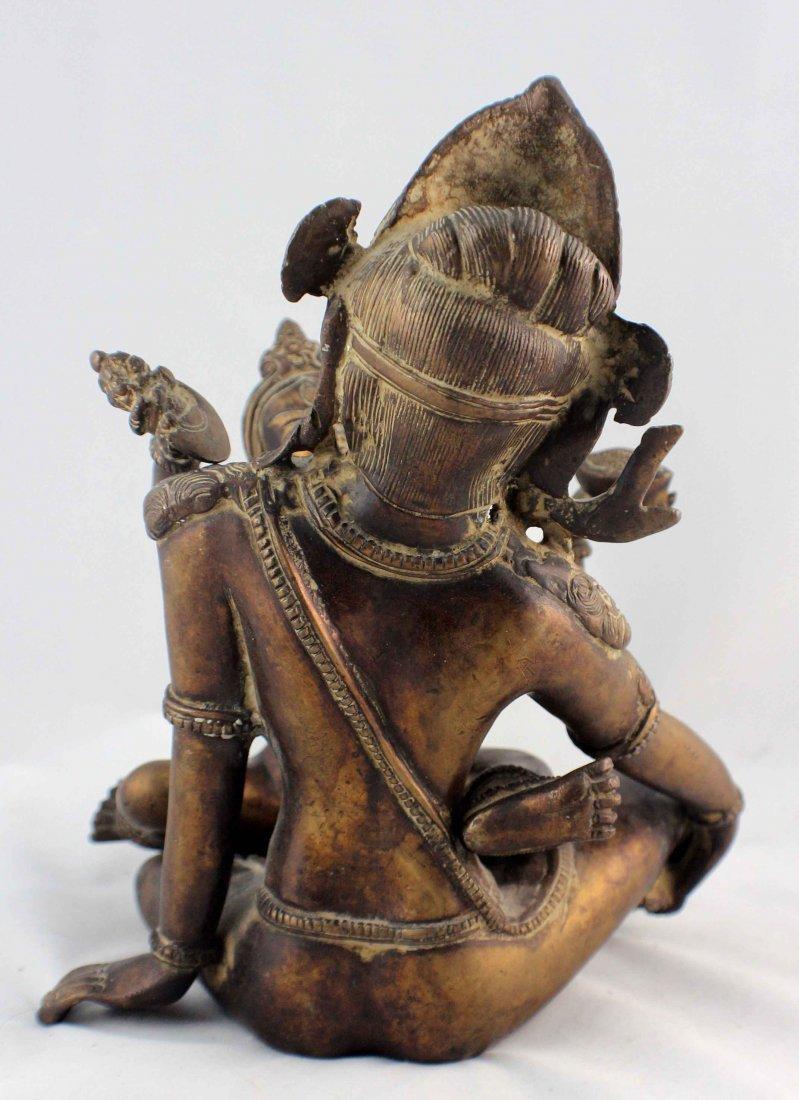Southeast Asia Bronze Statue - 6