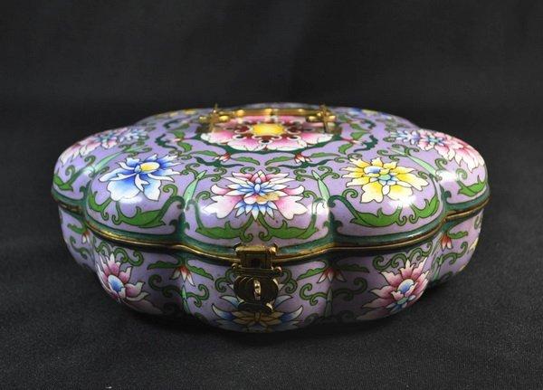 Chineses Cloisonne Enamel Box