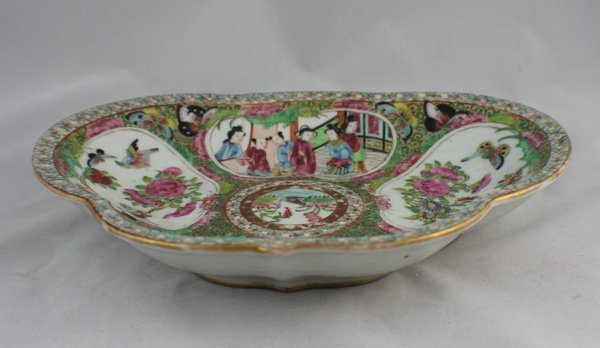 Chineses Rose Medallion Porcelain Plate - 5