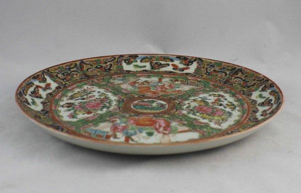 Chineses Rose Medallion Porcelain Plate - 5