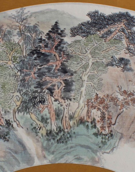 Chinese Hand Painted On Silk - 5