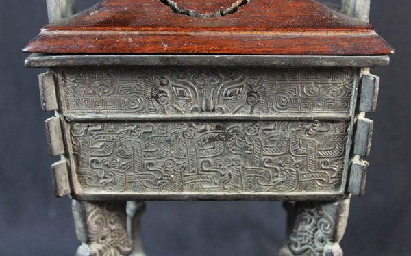 Chinese Antique Hand Made Bronze As Symbol of Dynasty - 7