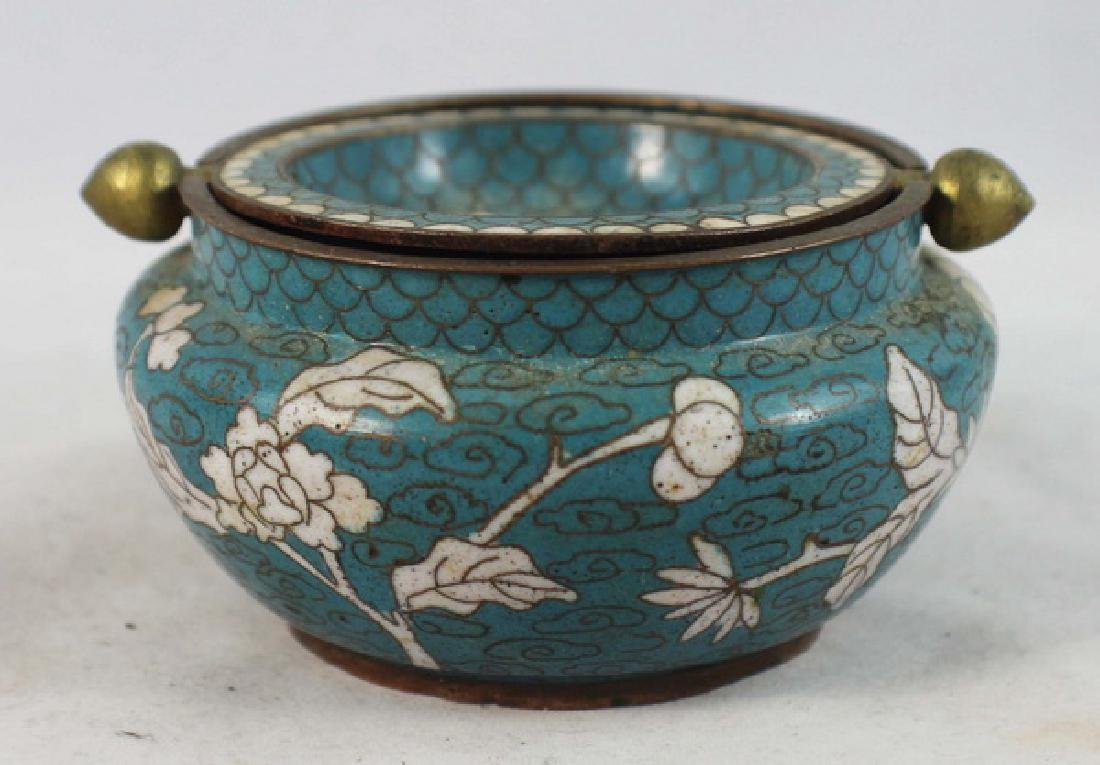 Group Of 5 Chinese Cloisonne Boxes - 8