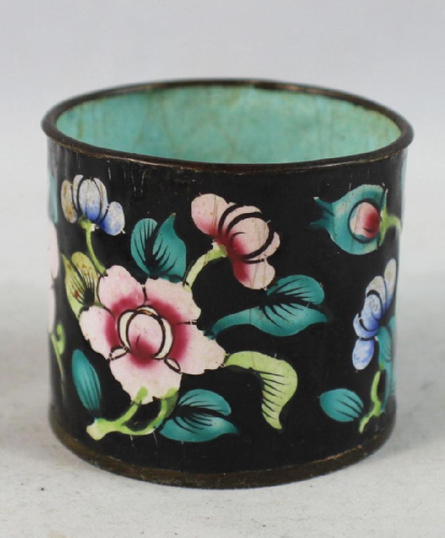 Group Of 5 Chinese Cloisonne Boxes - 9