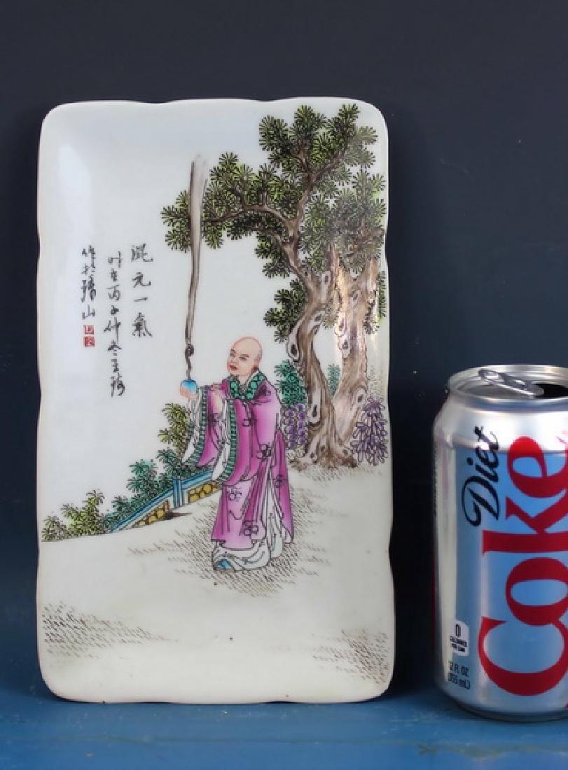 Vintage Hand Painted Porcelain Plate - 2