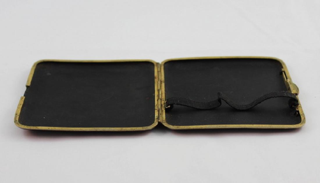 Japanese Inlaid 24K Gold Cigarette Boxes - 6