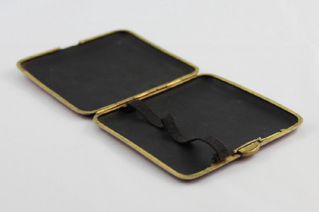 Japanese Inlaid 24K Gold Cigarette Boxes - 7