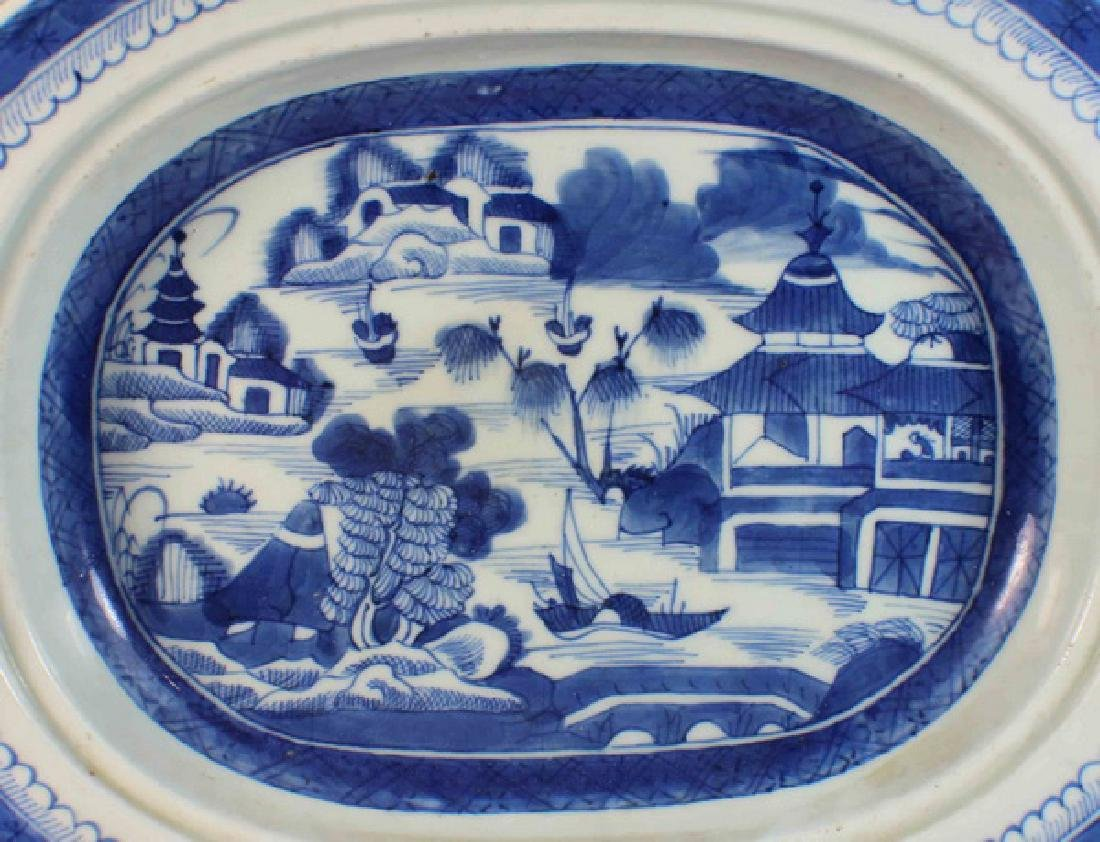 Antique Chinese Export Porcelain Plate - 3