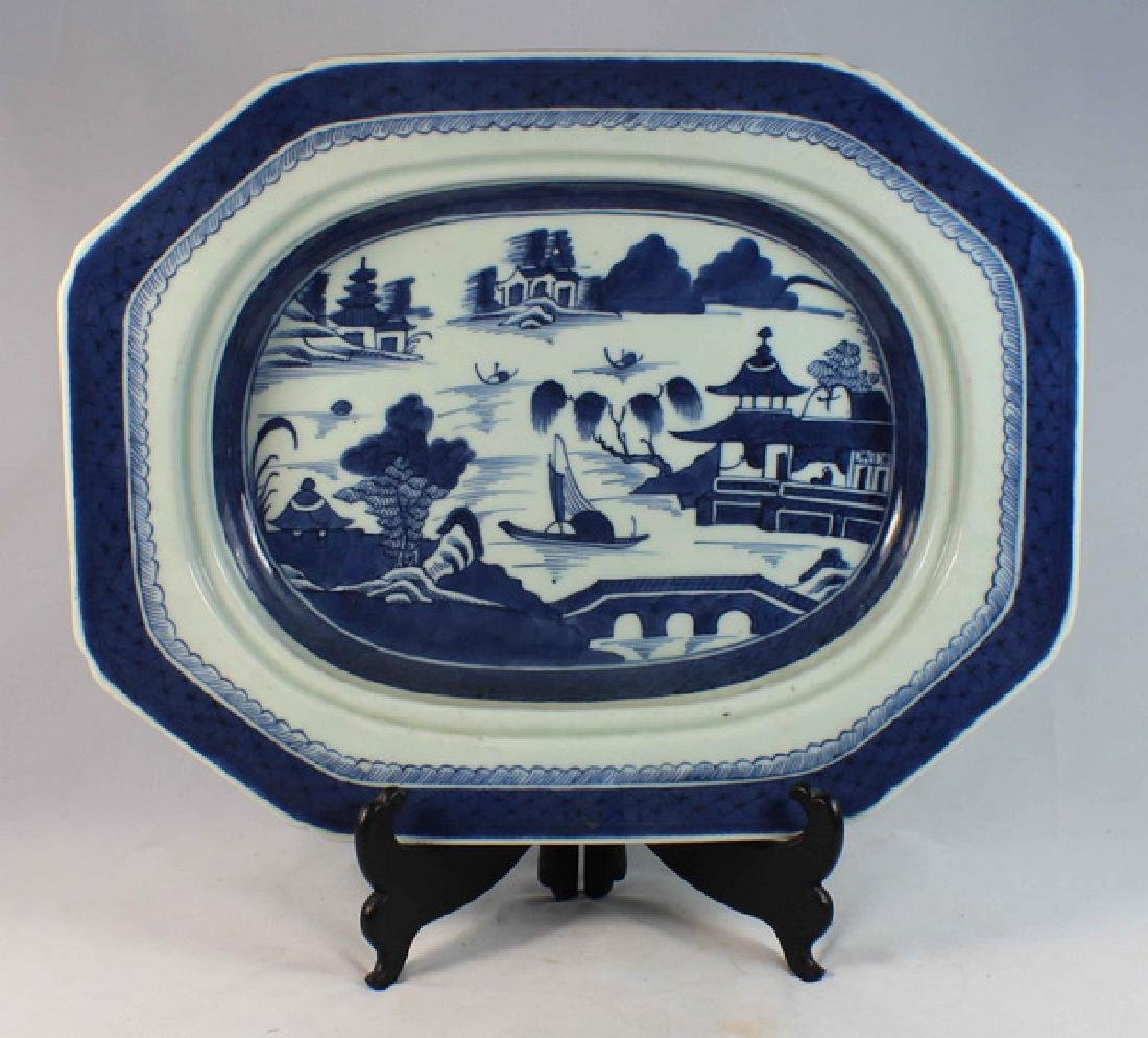 Antique Chinese Export Porcelain Plate